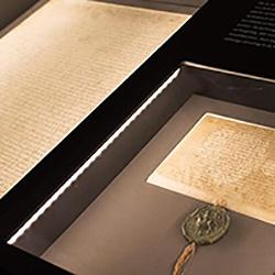 noord-hollands archief vitrine stadsrechten